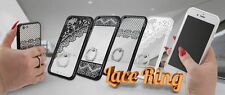 * Handy Tasche Silikonhülle LACE RING Case Hülle Cover Schutzhülle ver. Handys