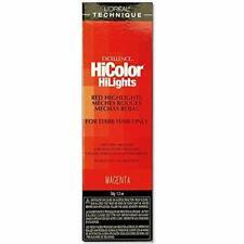 Loreal Excel Hicolor Hilights Magenta 1.2oz, Pack of 2