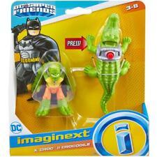 Imaginext Batman D C Super Friends K Croc and Crocodile