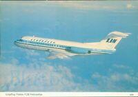 Linjeflyg Fokker F28 fellowship Charles Skilton