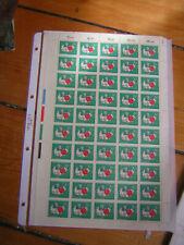 Bund Mi 539 Kompletter Bogen (20 + 10 FGrau Holle). Postfrisch