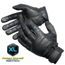 Genuine Leather Xl Police Tactical Weighted Steel Shot Sap Gloves Lifetime War