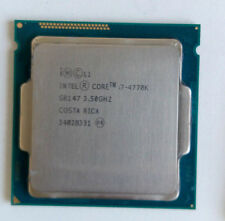 Intel Core i7 4770k 3.5GHZ QUAD CORE Processeur LGA1150 jusqu'à 3.90 GHz