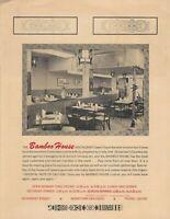 Vintage BAMBOO HOUSE Chinese Restaurant Menu, San Diego, California 1967
