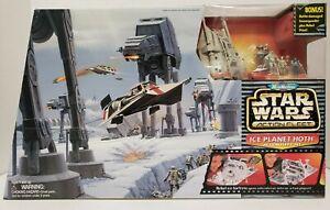 1995 Micro Machines Star Wars Action Fleet Ice Planet Hoth XL Set Rare