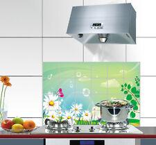 Beauté Pratique Étanche Huile-preuve Cuisine Autocollant Mural Papier 90 60cm