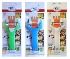 1 x Julienne Peeler For Cutting Thin Strips Of Fruit & Vegetable Colour May Vary