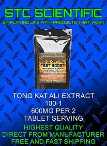 TONG KAT ALI 100-1  x 480. 4 X Pack 120 Total. Colour Of Tablet May Vary.