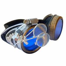 Steampunk GogGLes VicTORian Novelty Glasses cosplay Antique filigree S1 party