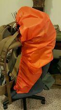 Jimmy Tarps UL PACK COVER Sil Poly 1.1 oz Blaze Orange XL 7000-9000 NEW