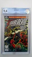 🔥🔥DAREDEVIL # 168  CGC 9.4 NM  KEY  1ST APPEARANCE OF ELECTRA  CENTS  1981🔥🔥