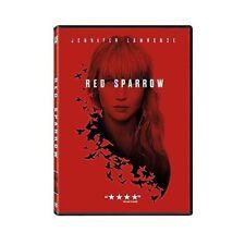 Red Sparrow,Very Good DVD, Jennifer Lawrence, Joel Edgerton, Matthias Schoenaert