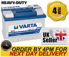 Varta E12 Blue Dynamic Heavy Duty 096R Car Battery - Chrysler Jeep Dodge Nissan