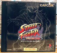 STREET FIGHTER Collection Sony Playstation Japan Import Retro Ps1 Capcom Fighter