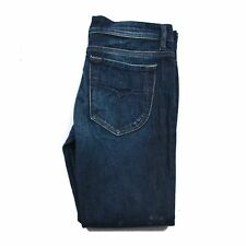 Diesel Liv Industry denim women jeans size W27 L34 dark blue slim 100% Authentic