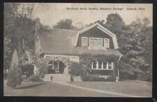 Postcard OXFORD Ohio/OH  Western College Stillman Kelly Studio House view 1930's