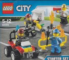LEGO CITY 60088 FIRE STARTER SET with 4 minifigures FIREMEN   New Nib Sealed