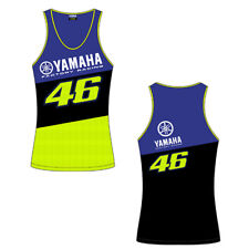 OFFICIAL LADIES GENUINE VR46 46 VALENTINO ROSSI YAMAHA FACTORY RACING TANK TOP