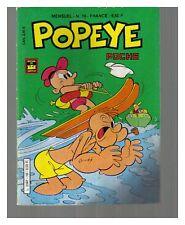 POPEYE POCHE N° 19 DE 1987 BE