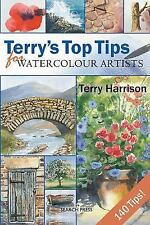 Terry's Top Tips for Watercolour Artists by Harrison, Terry