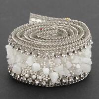 2.5cm DIY Diamond Mesh Wrap Roll Crystal Rhinestone-LOOK Wedding Ribbon Trim