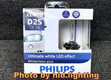 Philips Xenon D2S White Vision gen2 Plus 5000K +120% Ultimate White LED effect