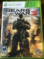 gears of war 3 xbox 360 2011, with stickers