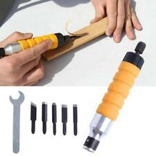 Wood Chisel Carving knives Wrench Flexible Shaft Tool Sets for Electric Drill