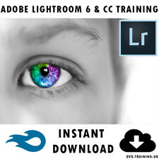 Adobe Photoshop Lightroom 6 & CC Professional Training Tutorial Instant Download