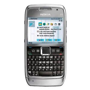 Original Nokia E71 Unlocked QWERTY 3G WIFI GPS MP3 Camera Bar Mobile Phone