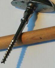 Tire-bouchon parfumerie pharmacie 1880 chromé corkscrew korkenzieher jolie jambe