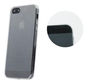 Housse Etui Coque Silicone Gel Transparent ~ Apple iPhone 5 / 5S / SE