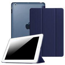 For iPad 4 iPad 3 iPad 2 Smart Case Translucent Frosted Back Cover Wake / Sleep