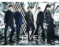 SHINee FIVE Limited Edition Type-B CD+DVD Photo Booklet Card Japan New
