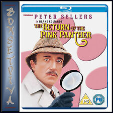 THE RETURN OF THE PINK PANTHER - PETER SELLERS *BRAND NEW BLU-RAY ***