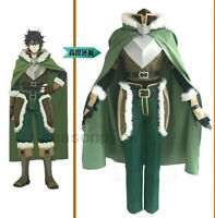The Rising of the Shield Hero Naofumi Iwatani Outfit Anime Cosplay Costume Set