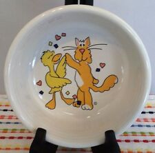Fiestaware Party Animals Small Bowl Fiesta Retired Childs Cereal Bowl 14 oz HTF