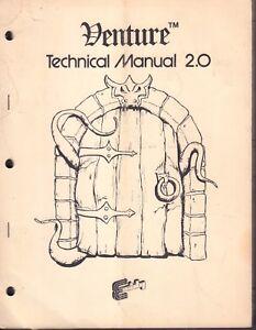 Venture Technical Manual 2.0 Exidy 1981 Arcade Machine Manual 092717DBE