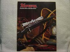 HOWA RIFLED & BARRELED ACTIONS undated gun catalog brochure