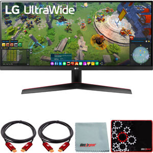 "LG 29"" UltraWide FHD HDR FreeSync Monitor with USB Type-C + Mouse Pad Bundle"