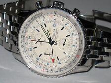 Mens Breitling Navitimer World GMT