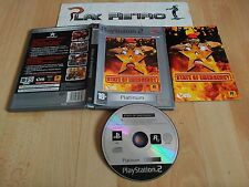 PLAY STATION 2 PS2 STATE OF EMERGENCY COMPLETO PAL ESPAÑA VERSION PLATINUM