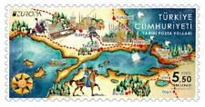 TURKEY / 2020 - EUROPA CEPT (Historical Postal Roads), MNH