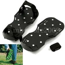 Lawn Grass Sod Walking Aerator Spiked Shoe Aerating Sandals 13x5cm Easy Strap On