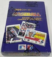 1991 OPC O-PEE-CHEE Premier BASEBALL Card BOX 36 PACKS Sealed BBCE Wrapped MLB