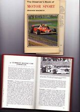The OBSERVERS BOOK of MOTOR SPORT by Graham Macbeth 1978 Issue