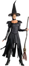 DLX WICKED WITCH OF WEST Costume Wizard Oz Dress Hat Adult XS Small 0 2 4 6