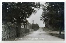 Entrance Longmoor Army Military Camp Nr Liphook unused sepia RP old pc Good