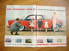 1955 Dodge Custom Royal Lancer 4 Door Sedan Ad  1955 L & M Cigarette Ad Holliday