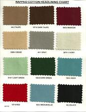 CLOTH HEADLINER FOR DESOTO 1937 37 1938 38 1939 39 1940  40 COUPE & 2 /4-DOOR